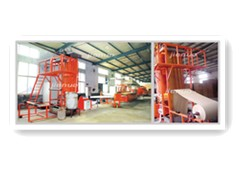Wet Curtain Core Production Line